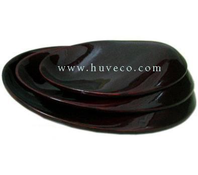 Bamboo Plate Set