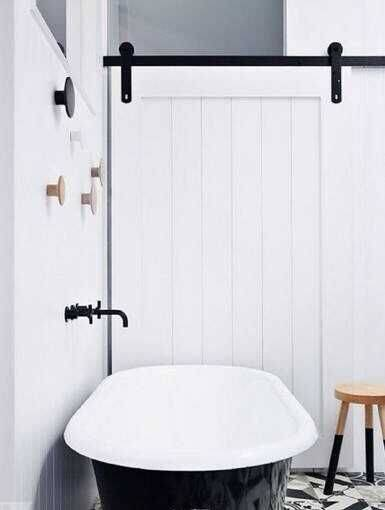 Modern Sliding Barn Wood Door Hardware Interior Or Exterior