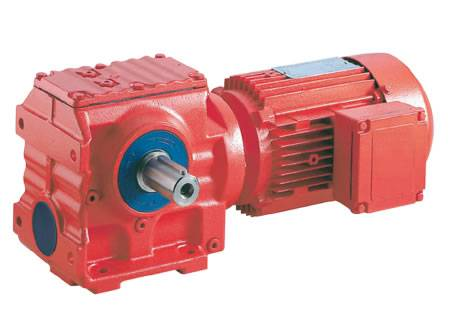 HS series helical-worm gear units