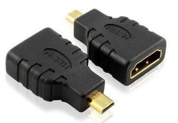 Mini HDMI connector, Micro hdmi to hdmi adapter