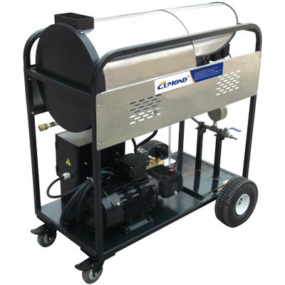 Steam pressure washer machine