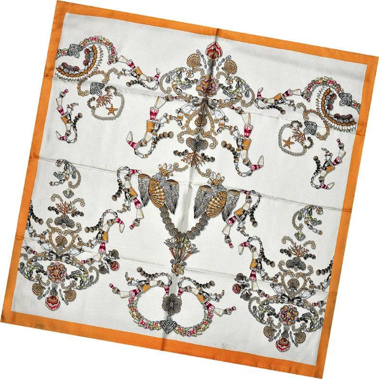 Lady's Fashion Print Silk Twill Scarves
