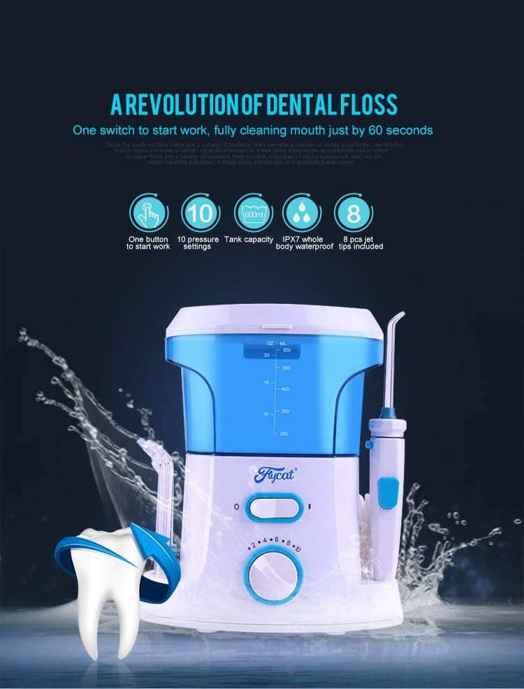 Personal oral hygiene teeth cleaning dental water flosser jet