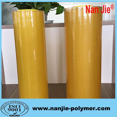 Jumbo rolls pvc film manufacturer transparent food packaging film rolls