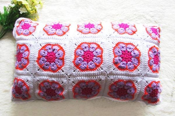 Crochet Pillows and Cushions 100% Handmade Cotton Cushion Covers