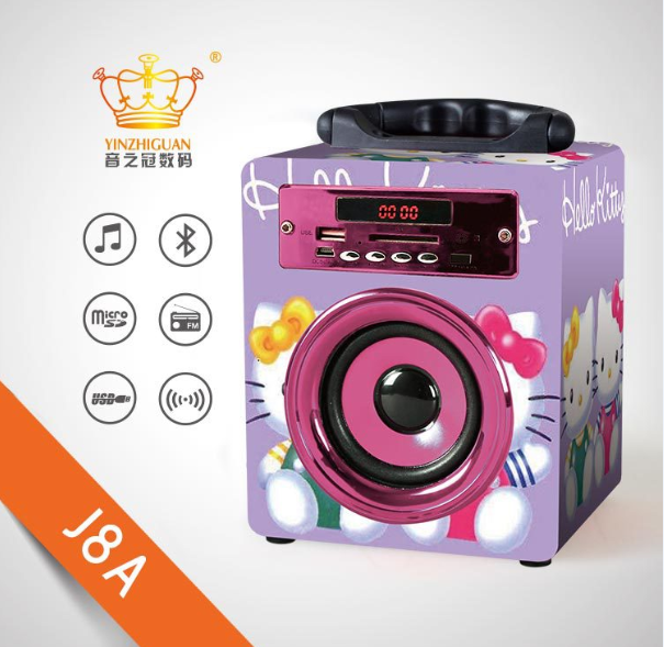MX-J8A portable bluetooth speaker