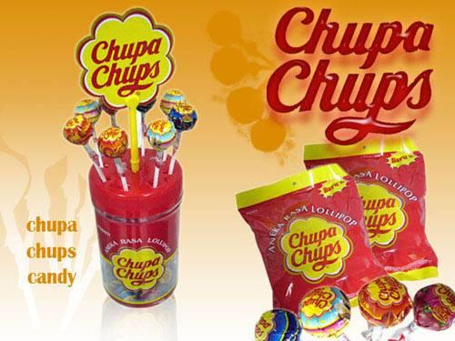 CHUPA CHUPS  lollipop candy