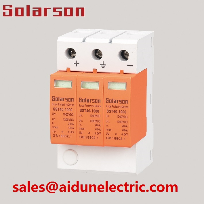 1500VDC Surge protector SPD Type II 3P 40ka for solar system with TUV CE certificate