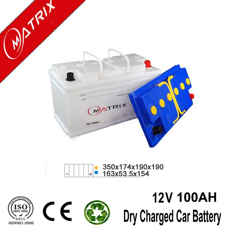 matrix 12V 100ah europe dry Car Battery Online