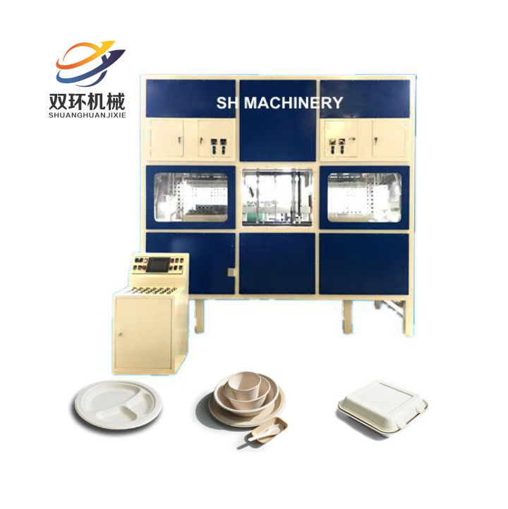 Biodegradable Bagasse Paper Plate/ Lunch Container Making Machine