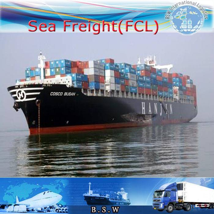 Sea shipping from Wuhan/Tianjin/Nanjing to Casablanca