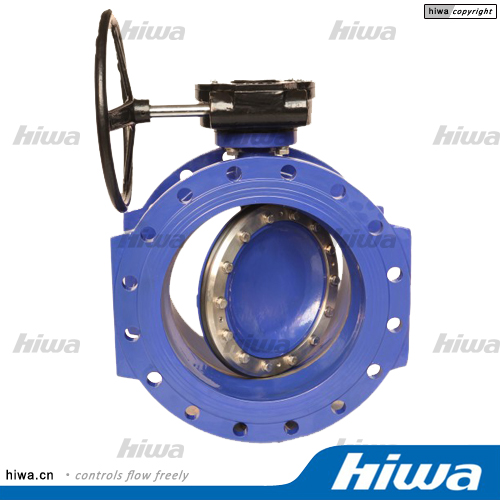 B60 double or triple eccentric double flanged butterfly valve