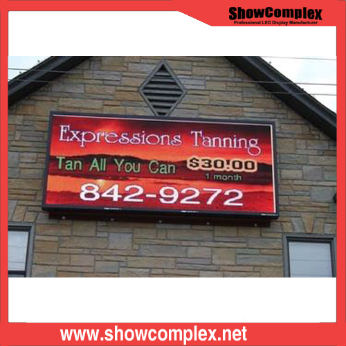 P10 Front Service Outdoor Full Color LED Advertising Display