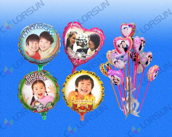 DIY Photo Balloons (18cm/28cm, Round / Star / Heart)