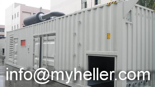 mtu soundproof generator sets