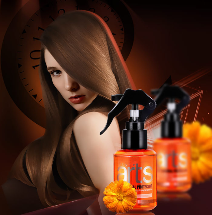 OEM private label type protein hair treatment organic hair spray