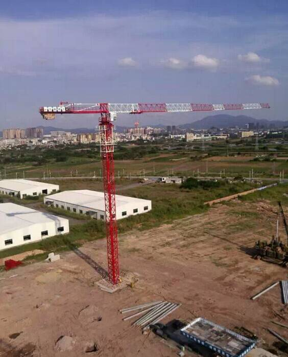 QTZ62(5010) building construction tower crane,reliable safety