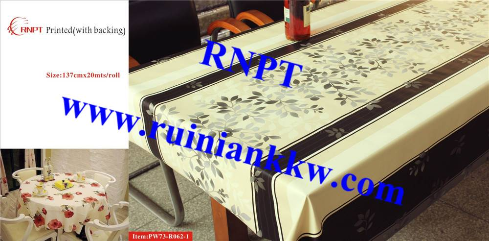 Iran hot sales RNPT PW73-R062-1 3D Printed Table Cloth with backing for Israel, Iran, Turkey