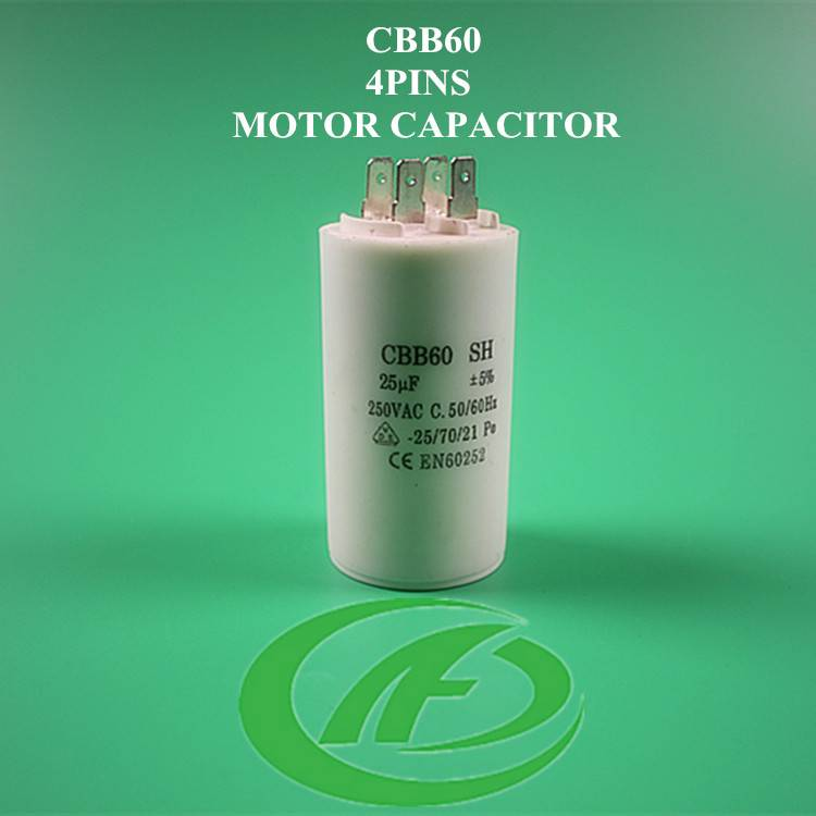 4 pin capacitor 450V and cbb60 60uf 250v capacitor