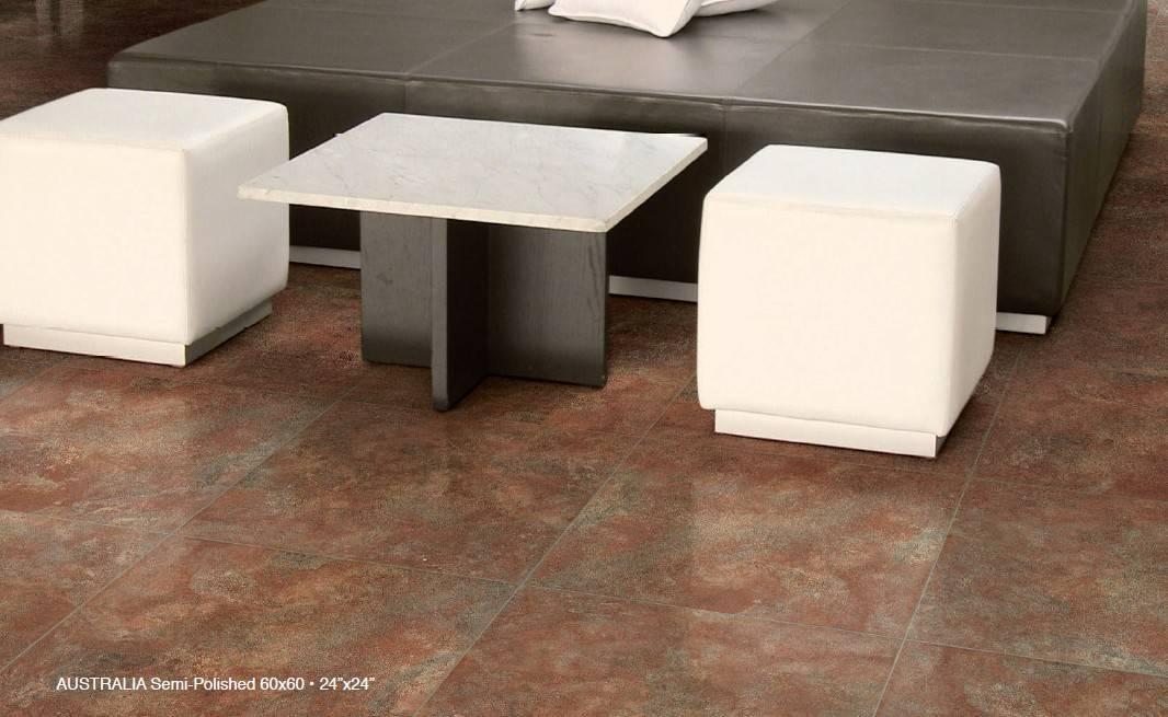 Glazed Full Body Porcelain Floor Tile Legend Pacific