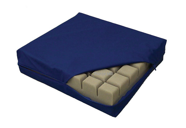 Waterproof & Breathable Soft PU Coated Medical Pillow / Cushion Covers with Zipper