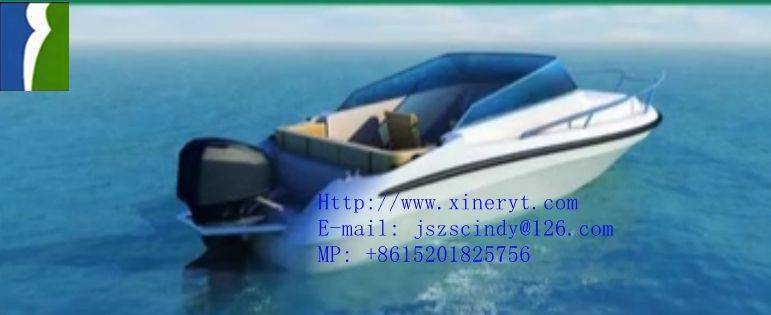 supply 2016 New Type high quality 6.45M motor yacht