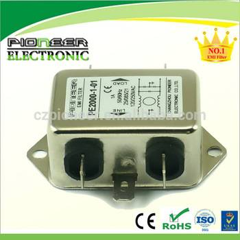 PE2000-6-016A 120/250VAC LED electric line mains filter