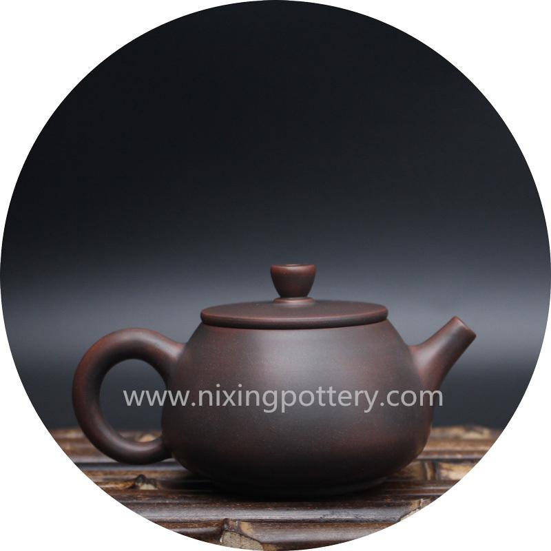 Teapot Nixing Pottery Tea Pot Hand Painting Tea Ware Money Comes Everyday Tea Set