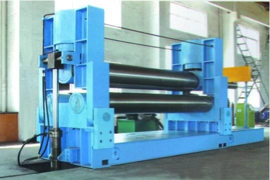 Hydraulic 3 Roll Symmetrical Plate Rolling Machine