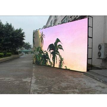 IP65 waterproof outdoor LED screen for shopping mall, plaza, hotel