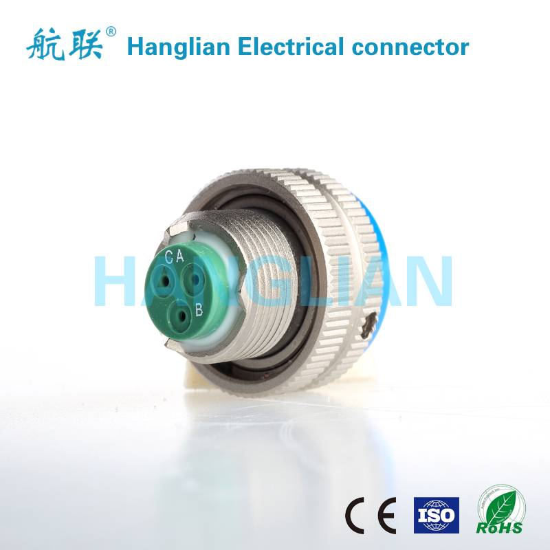 GJB598 II Series (MIL-DTL-26482 II Series) Circular Electric Plug Connector