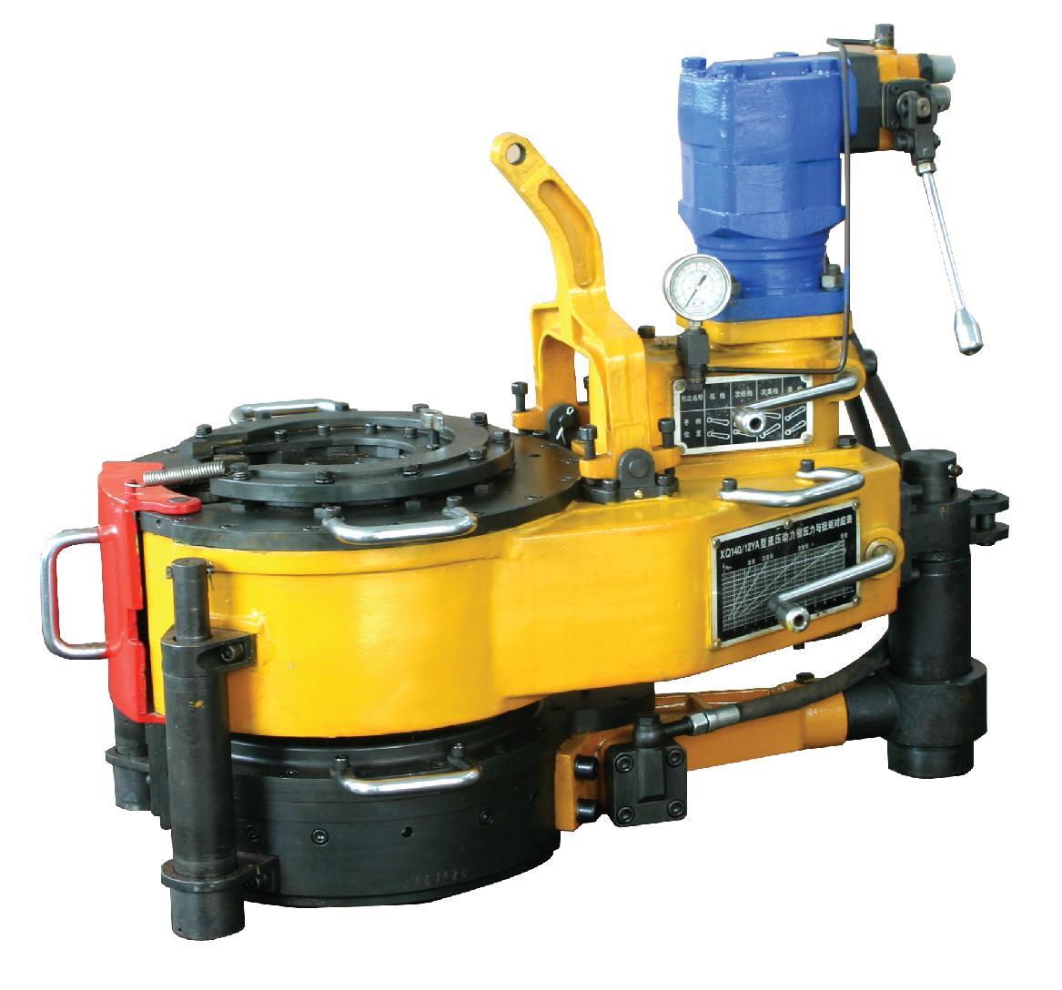 XYQ12 tubing power tong oil pipe hydraulic power tong