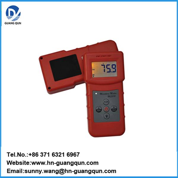 MS310 Portable Textile Moisture Meter can test Textile materials,cheese,garment,wool
