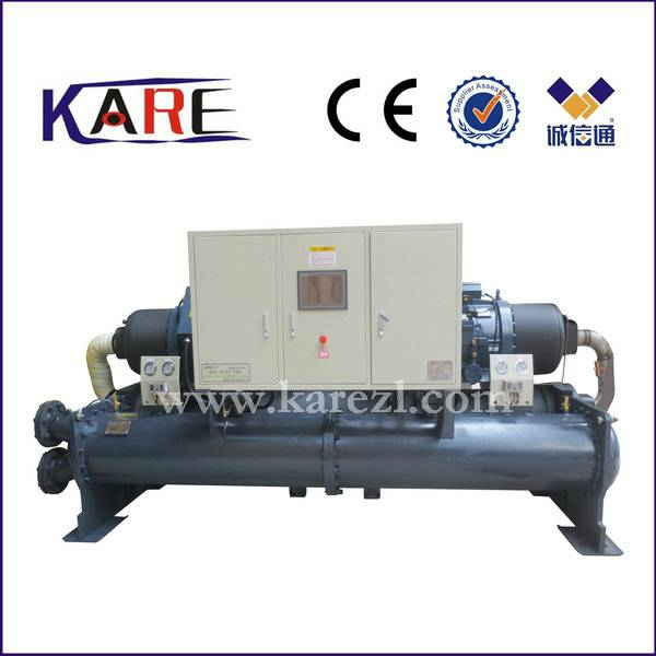 100ton screw water cooled chiller