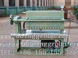 Plate oil filter press of cooking oil machine