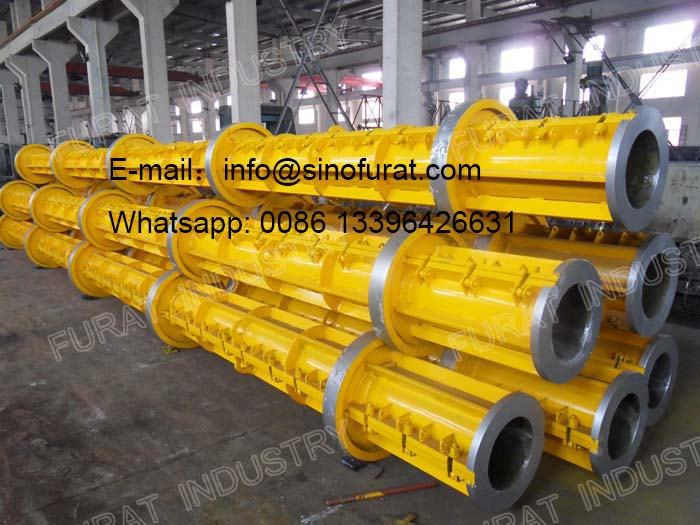 High Quality Automatic concrete electric pole steel mould