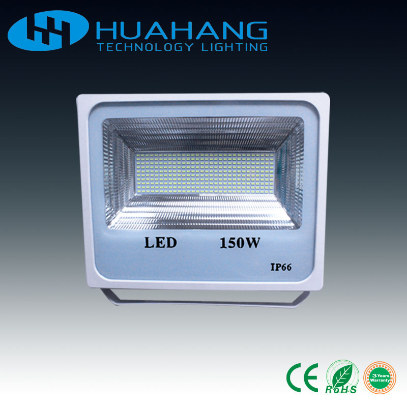 50W 100W 150W Led flood light outdoor light high lumens 80Lm/W Warranty3 years CRI>75