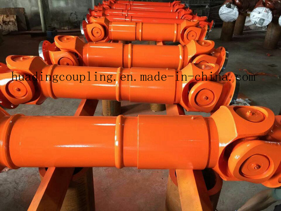 Cardan shaft for heavy duty machine