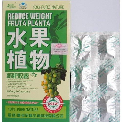 Reduce weight fruta planta weight loss capsule