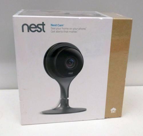 Nest Cam Black Wi-Fi NestCam NC1102ES