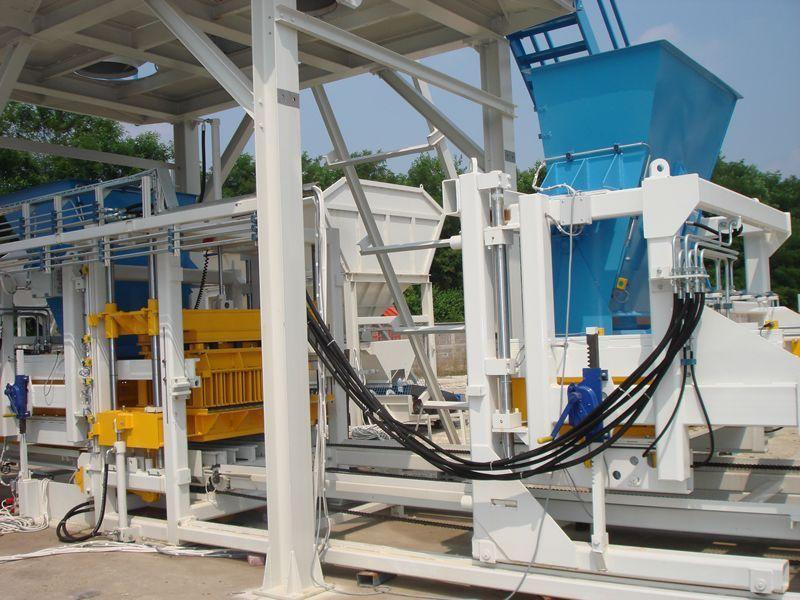 U-600 (800 blocks/hour) Concrete Block Machine
