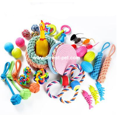 pet toys dog toy ball, frisbee, rope chew toys