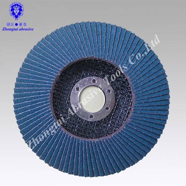 Zirconium corundum flap disc