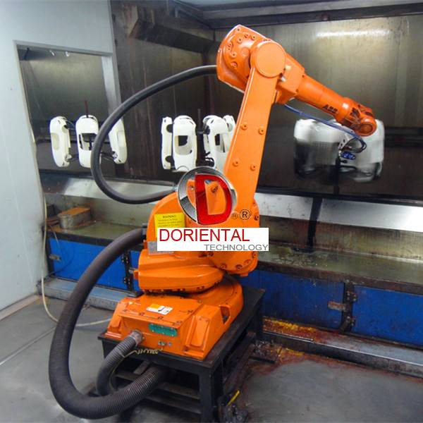 D Oriental DOT-SA2C1 Automatic Robot Coating line  with ABB IRB580 robot arm