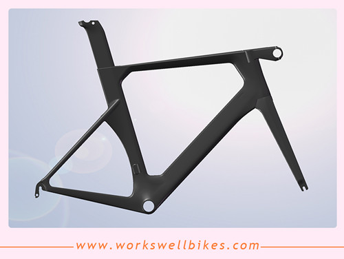 2017 OEM New AERO carbon road bike frame carbon frame