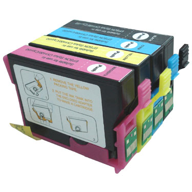 86T Compatible Inkjet Cartridge Series for EPSON Stylus CX4400 3C PIG (Chipped)