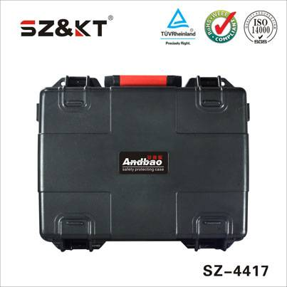 waterproof hard carrying rugged plastic tool case