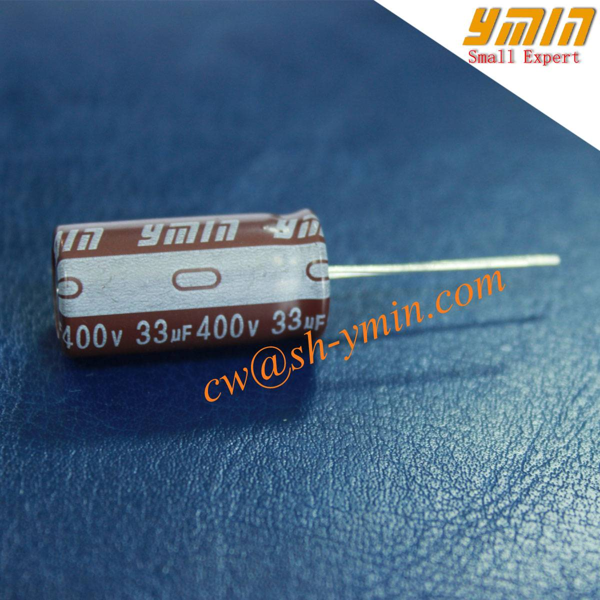 400V 33uF  Lighting Capacitor Radial Electrolytic Capacitor for LED Floodlight