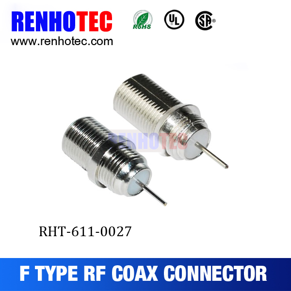 coaxial F wire connectors types