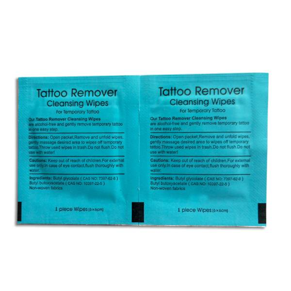 New Cleaning Wet Wipes Coming!Tattoo Remover Cleaning Wipes Can tattoo-roval